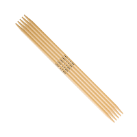 Addi Stricknadel (Strumpfstricknadel 15 cm) aus Bambus