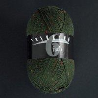 Zitron Wolle der Sorte Trekking in der Farbe dunkelgruen