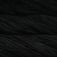 Malabrigo Wolle der Sorte Worsted in der Farbe Black