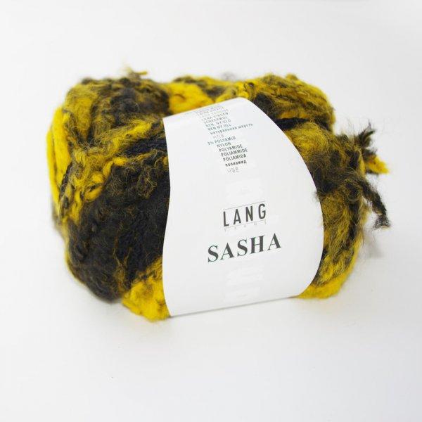 Lang Yarns Wolle der Sorte Sasha in der Farbe Schwarz-Gelb