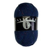 Zitron Wolle der Sorte Trekking-6-fach-Tweed in der Farbe 1859
