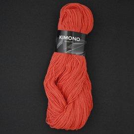 Zitron Wolle der Sorte Kimono in der Farbe orangerot