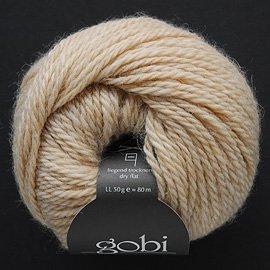 Zitron Wolle der Sorte Gobi in der Farbe beige