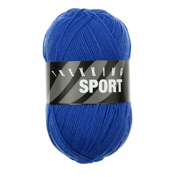 Zitron Wolle der Sorte Trekking-Sport in der Farbe Blau (1496)