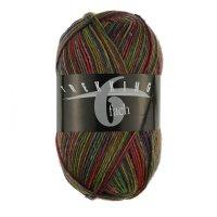 Zitron Wolle der Sorte Trekking-6-fach-Color in der Farbe 1801