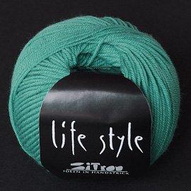 Zitron Wolle der Sorte Lifestyle in der Farbe tuerkisgruen