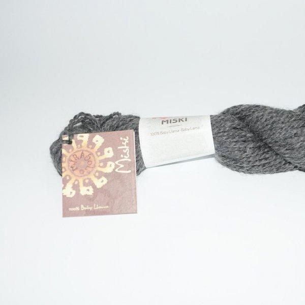 Katia Wolle der Sorte Miski in der Farbe Mittelgrau
