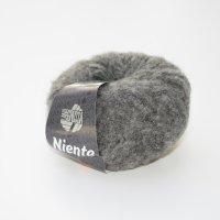 Lana Grossa Wolle der Sorte Niente in der Farbe Dunkelgrau