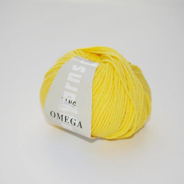 Lang Yarns Wolle der Sorte Omega in der Farbe Gelb