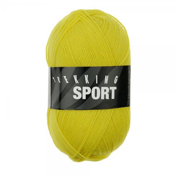 Zitron Wolle der Sorte Trekking-Sport in der Farbe Gelb (1476)
