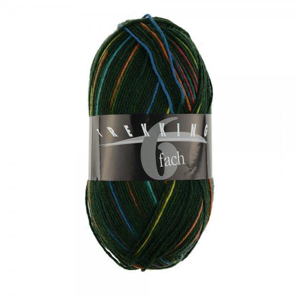 Zitron Wolle der Sorte Trekking-6-fach-Color in der Farbe 1838