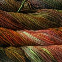 Malabrigo Wolle der Sorte Rios in der Farbe Liquid-Ambar
