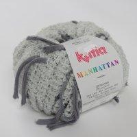 Katia Wolle der Sorte Manhattan in der Farbe Perla/Gris