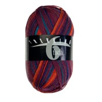 Zitron Wolle der Sorte Trekking-6-fach-Color in der Farbe 1895