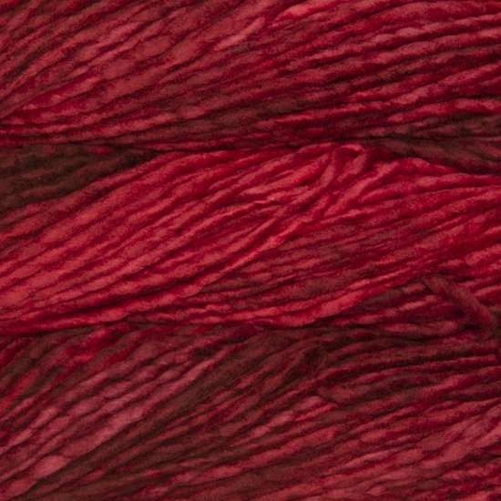 Malabrigo Wolle der Sorte Rasta in der Farbe Ravelry Red