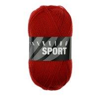 Zitron Wolle der Sorte Trekking-Sport in der Farbe Rot (1480)