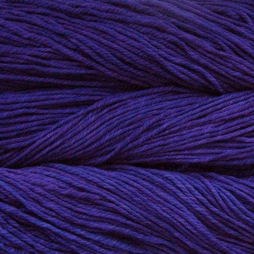 Malabrigo Wolle der Sorte Chunky in der Farbe Purple-Mystery