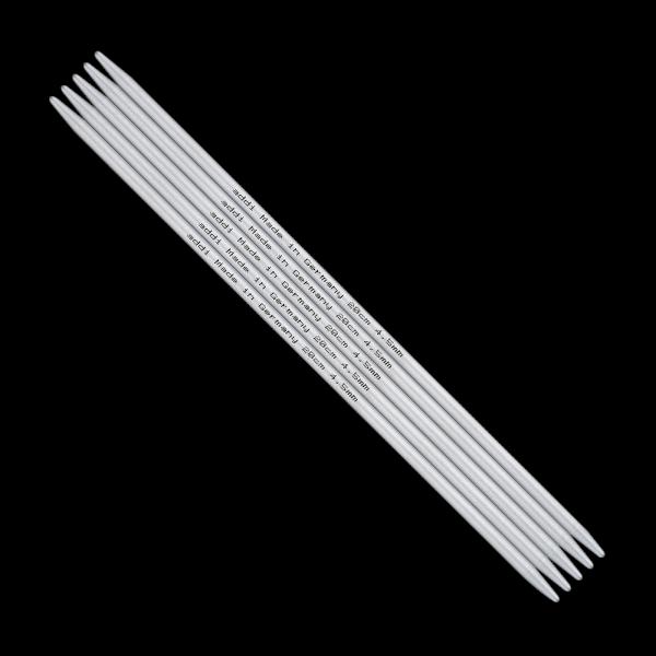 Addi Stricknadel Strumpfstricknadel 15 cm) aus Aluminium