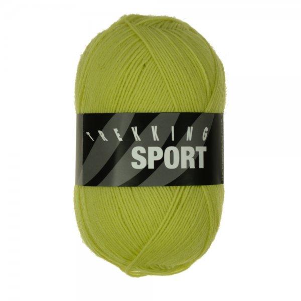 Zitron Wolle der Sorte Trekking-Sport in der Farbe Hellgrün (1412)