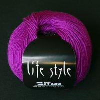 Zitron Wolle der Sorte Lifestyle in der Farbe magenta