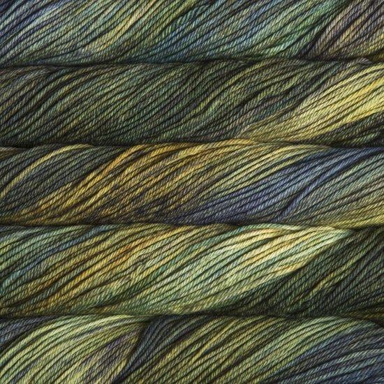 Malabrigo Wolle der Sorte Rios in der Farbe Hojas