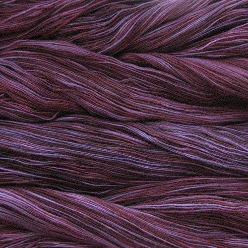 Malabrigo Wolle der Sorte Lace in der Farbe Velvet-Grapes