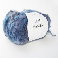 Lang Yarns Wolle der Sorte Sasha in der Farbe Blau-Grau