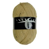 Zitron Wolle der Sorte Trekking-6-fach-Tweed in der Farbe 1887