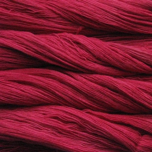 Malabrigo Wolle der Sorte Lace in der Farbe Geranio