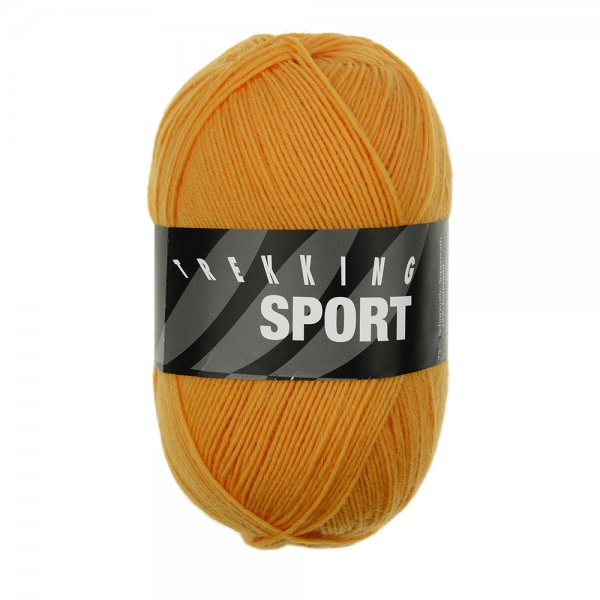 Zitron Wolle der Sorte Trekking-Sport in der Farbe Orange (1490)