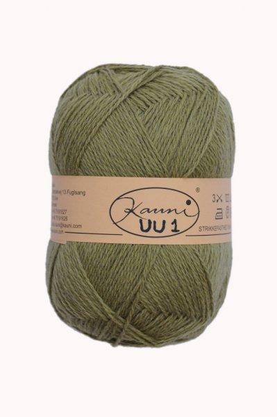 Kauni Wolle der Sorte Einfarbig in der Farbe UU1