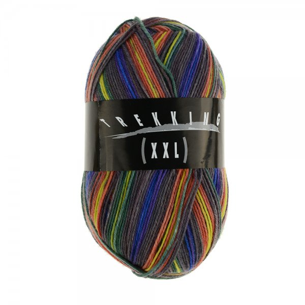 Zitron Wolle der Sorte Trekking-4-fach-Color in der Farbe 572