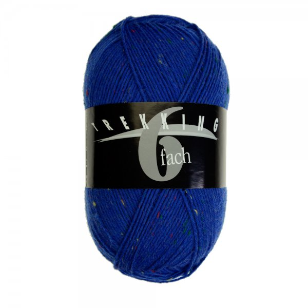 Zitron Wolle der Sorte Trekking-6-fach-Tweed in der Farbe 1888