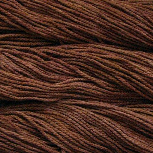 Malabrigo Wolle der Sorte Chunky in der Farbe Rich-Chocolate