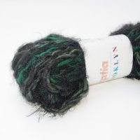 Katia Wolle der Sorte Brooklyn in der Farbe Verde/Negro