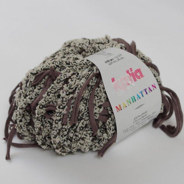 Katia Wolle der Sorte Manhattan in der Farbe Beige/Visón
