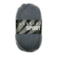 Zitron Wolle der Sorte Trekking-Sport in der Farbe Grau (1498)