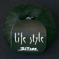 Zitron Wolle der Sorte Lifestyle in der Farbe tiefdunkelgruen