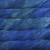 Malabrigo Wolle der Sorte Worsted in der Farbe Emerald Blue