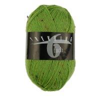 Zitron Wolle der Sorte Trekking-6-fach-Tweed in der Farbe 1883