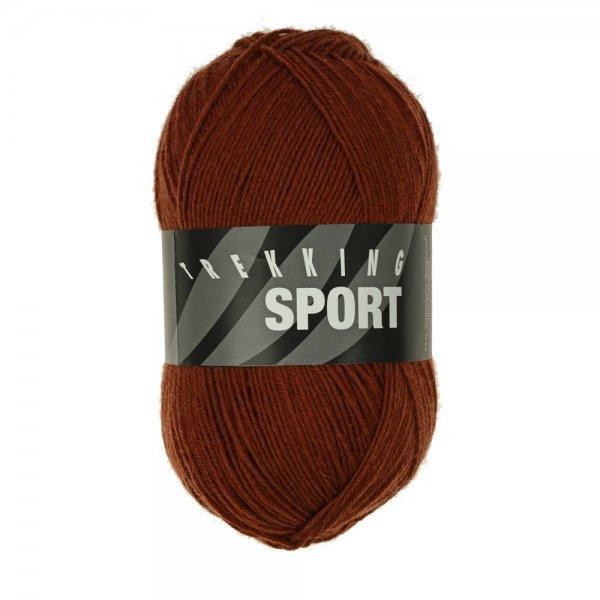 Zitron Wolle der Sorte Trekking-Sport in der Farbe Braun (1409)