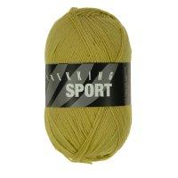 Zitron Wolle der Sorte Trekking-Sport in der Farbe Gelbgrün (1411)