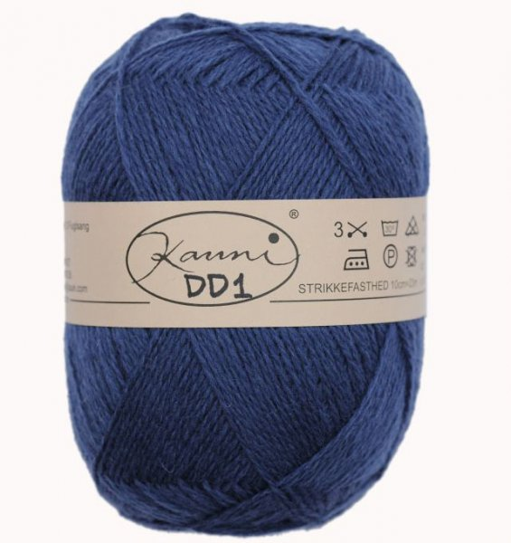 Kauni Wolle der Sorte Einfarbig in der Farbe DD1