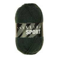 Zitron Wolle der Sorte Trekking-Sport in der Farbe Waldgrün (1403)