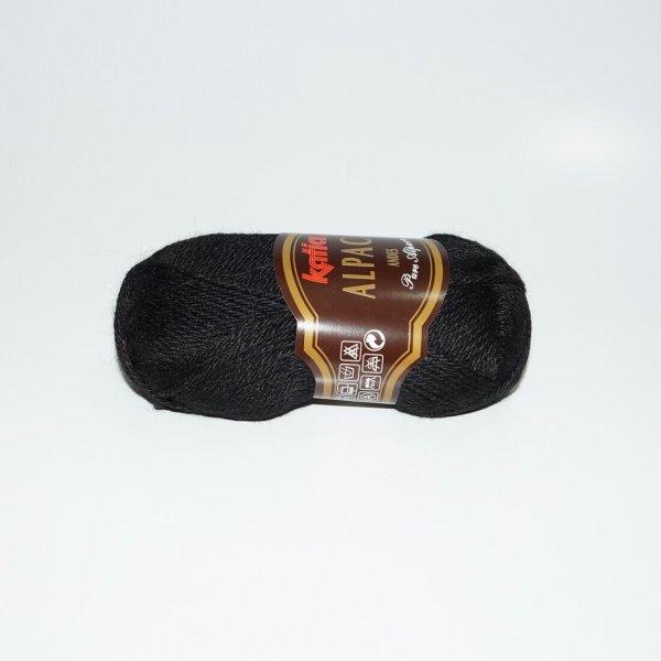 Katia Wolle der Sorte Andes in der Farbe Schwarz