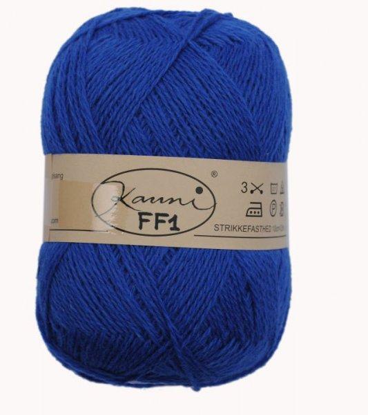 Kauni Wolle der Sorte Einfarbig in der Farbe FF1
