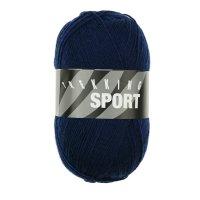 Zitron Wolle der Sorte Trekking-Sport in der Farbe Dunkelblau (1430)