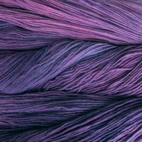 Malabrigo Wolle der Sorte Worsted in der Farbe Purple-Mystery