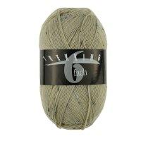 Zitron Wolle der Sorte Trekking-6-fach-Tweed in der Farbe 1885