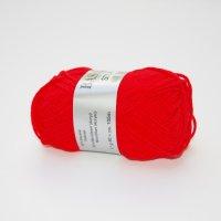 Lana Grossa Wolle der Sorte Basics Stop in der Farbe Rot